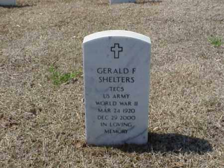 SHELTERS (VETERAN WWII), GERALD F - Pulaski County, Arkansas | GERALD F SHELTERS (VETERAN WWII) - Arkansas Gravestone Photos