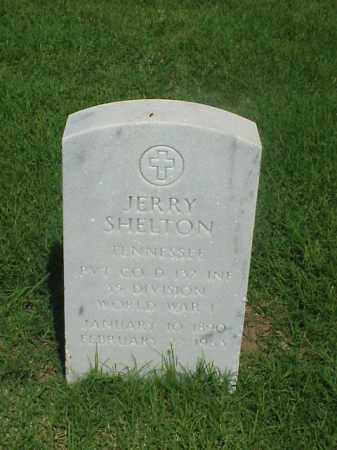 SHELTON (VETERAN WWI), JERRY - Pulaski County, Arkansas | JERRY SHELTON (VETERAN WWI) - Arkansas Gravestone Photos