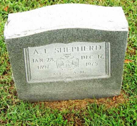 SHEPHERD, A. L. - Pulaski County, Arkansas | A. L. SHEPHERD - Arkansas Gravestone Photos