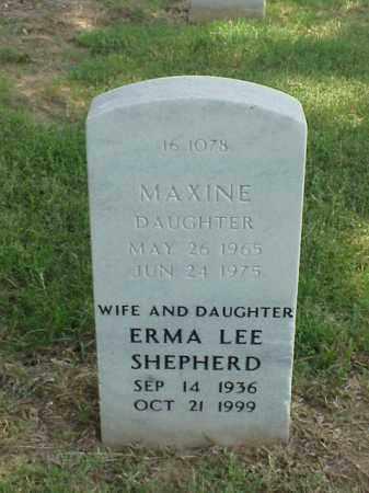 SHEPHERD, ERMA LEE - Pulaski County, Arkansas   ERMA LEE SHEPHERD - Arkansas Gravestone Photos