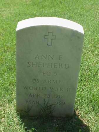 SHEPHERD (VETERAN WWII), ANN E - Pulaski County, Arkansas | ANN E SHEPHERD (VETERAN WWII) - Arkansas Gravestone Photos