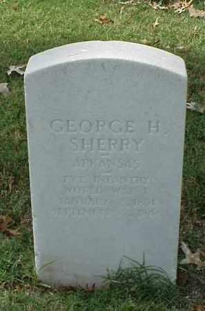 SHERRY (VETERAN WWI), GEORGE H - Pulaski County, Arkansas | GEORGE H SHERRY (VETERAN WWI) - Arkansas Gravestone Photos