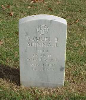 SHINNALL (VETERAN WWII), SAMUEL B - Pulaski County, Arkansas   SAMUEL B SHINNALL (VETERAN WWII) - Arkansas Gravestone Photos