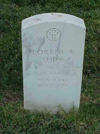 SHIPP (VETERAN WWII), LORENE E - Pulaski County, Arkansas | LORENE E SHIPP (VETERAN WWII) - Arkansas Gravestone Photos