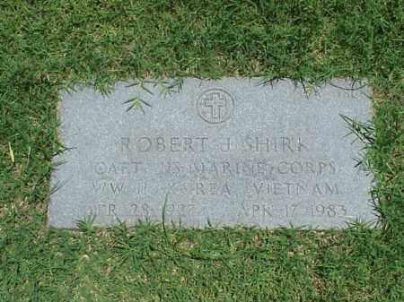 SHIRK (VETERAN 3 WARS), ROBERT J - Pulaski County, Arkansas | ROBERT J SHIRK (VETERAN 3 WARS) - Arkansas Gravestone Photos