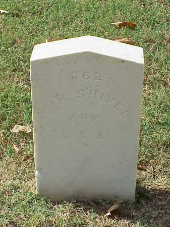 SHIVEL (VETERAN CSA), G H - Pulaski County, Arkansas | G H SHIVEL (VETERAN CSA) - Arkansas Gravestone Photos