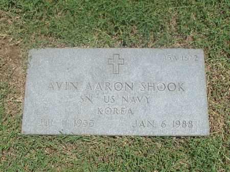 SHOOK (VETERAN KOR), AVIN AARON - Pulaski County, Arkansas | AVIN AARON SHOOK (VETERAN KOR) - Arkansas Gravestone Photos