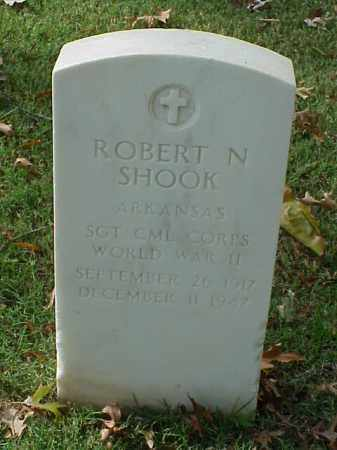 SHOOK (VETERAN WWII), ROBERT N - Pulaski County, Arkansas | ROBERT N SHOOK (VETERAN WWII) - Arkansas Gravestone Photos