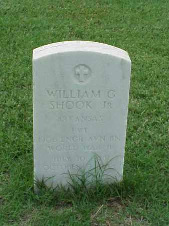 SHOOK, JR (VETERAN WWII), WILLIAM G - Pulaski County, Arkansas | WILLIAM G SHOOK, JR (VETERAN WWII) - Arkansas Gravestone Photos