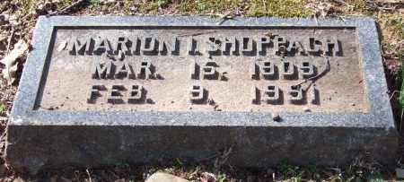 SHOPPACH, MARION ISABELLA - Pulaski County, Arkansas | MARION ISABELLA SHOPPACH - Arkansas Gravestone Photos