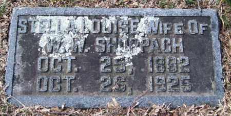 SHOPPACH, STELLA LOUISE - Pulaski County, Arkansas   STELLA LOUISE SHOPPACH - Arkansas Gravestone Photos
