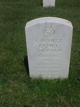 SHOPTAW (VETERAN WWI), EARNEST ERNET - Pulaski County, Arkansas | EARNEST ERNET SHOPTAW (VETERAN WWI) - Arkansas Gravestone Photos