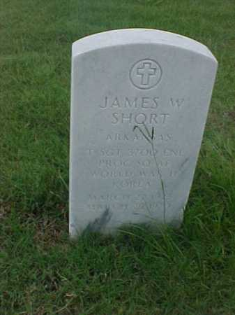 SHORT (VETERAN 2 WARS), JAMES W - Pulaski County, Arkansas   JAMES W SHORT (VETERAN 2 WARS) - Arkansas Gravestone Photos