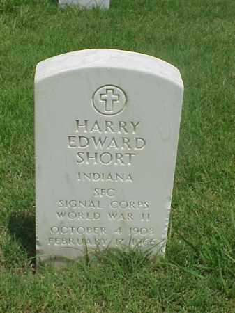 SHORT (VETERAN WWII), HARRY EDWARD - Pulaski County, Arkansas   HARRY EDWARD SHORT (VETERAN WWII) - Arkansas Gravestone Photos