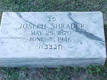 SHRADER, JOSEPH - Pulaski County, Arkansas   JOSEPH SHRADER - Arkansas Gravestone Photos