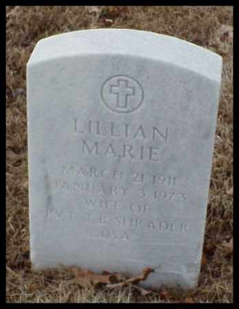 SHRADER, LILLIAM MARIE - Pulaski County, Arkansas | LILLIAM MARIE SHRADER - Arkansas Gravestone Photos