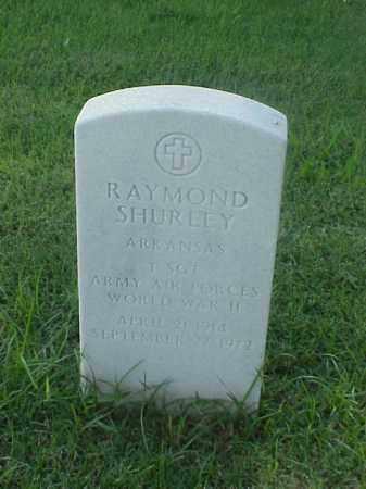 SHURLEY (VETERAN WWII), RAYMOND - Pulaski County, Arkansas | RAYMOND SHURLEY (VETERAN WWII) - Arkansas Gravestone Photos