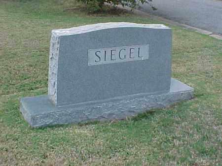 SIEGEL FAMILY STONE,  - Pulaski County, Arkansas |  SIEGEL FAMILY STONE - Arkansas Gravestone Photos