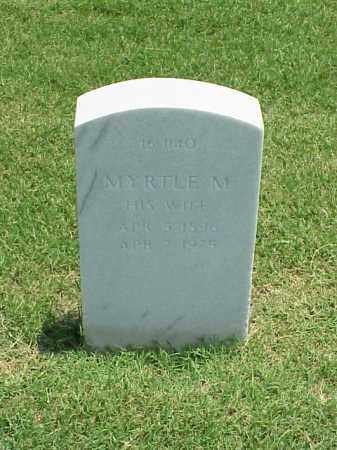 SIEVERS, MYRTLE M - Pulaski County, Arkansas   MYRTLE M SIEVERS - Arkansas Gravestone Photos