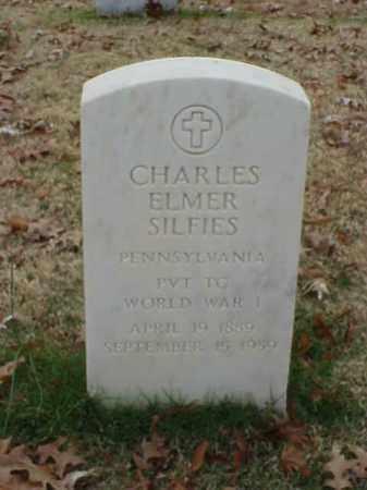 SILFIES (VETERAN WWI), CHARLES ELMER - Pulaski County, Arkansas | CHARLES ELMER SILFIES (VETERAN WWI) - Arkansas Gravestone Photos