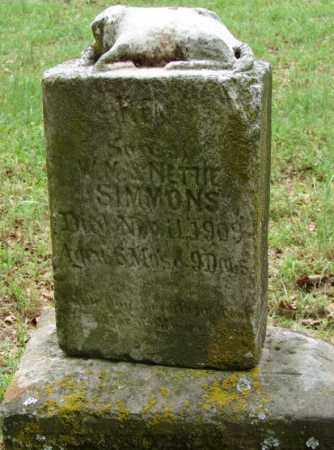 SIMMONS, INFANT SON - Pulaski County, Arkansas   INFANT SON SIMMONS - Arkansas Gravestone Photos
