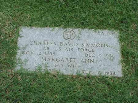 SIMMONS (VETERAN KOR), CHARLES DAVID - Pulaski County, Arkansas | CHARLES DAVID SIMMONS (VETERAN KOR) - Arkansas Gravestone Photos