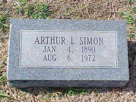 SIMON, ARTHUR L - Pulaski County, Arkansas | ARTHUR L SIMON - Arkansas Gravestone Photos