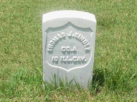 SINDLE (VETERAN UNION), THOMAS J - Pulaski County, Arkansas | THOMAS J SINDLE (VETERAN UNION) - Arkansas Gravestone Photos