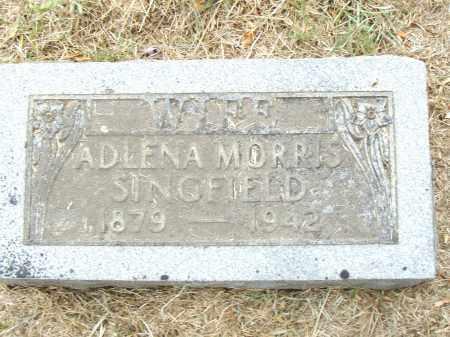 MORRIS SINGFIELD, ADLENA - Pulaski County, Arkansas | ADLENA MORRIS SINGFIELD - Arkansas Gravestone Photos