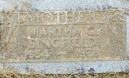 SINGFIELD, MARTHA C. - Pulaski County, Arkansas   MARTHA C. SINGFIELD - Arkansas Gravestone Photos