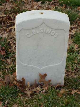 SINGS (VETERAN UNION), C B - Pulaski County, Arkansas | C B SINGS (VETERAN UNION) - Arkansas Gravestone Photos