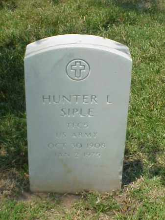 SIPLE (VETERAN WWII), HUNTER L - Pulaski County, Arkansas | HUNTER L SIPLE (VETERAN WWII) - Arkansas Gravestone Photos