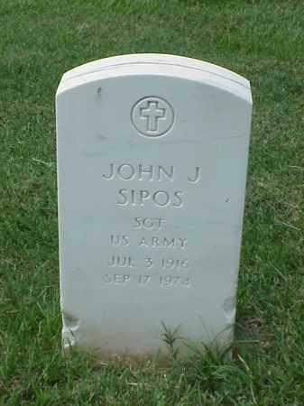SIPOS (VETERAN WWII), JOHN J - Pulaski County, Arkansas   JOHN J SIPOS (VETERAN WWII) - Arkansas Gravestone Photos