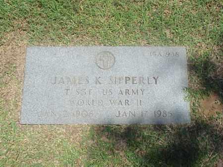 SIPPERLY (VETERAN WWII), JAMES K - Pulaski County, Arkansas | JAMES K SIPPERLY (VETERAN WWII) - Arkansas Gravestone Photos