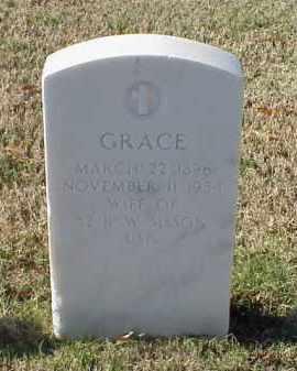 SISSON, GRACE - Pulaski County, Arkansas | GRACE SISSON - Arkansas Gravestone Photos