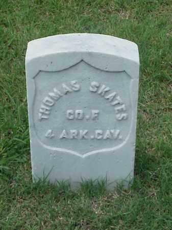 SKATES (VETERAN UNION), THOMAS - Pulaski County, Arkansas | THOMAS SKATES (VETERAN UNION) - Arkansas Gravestone Photos