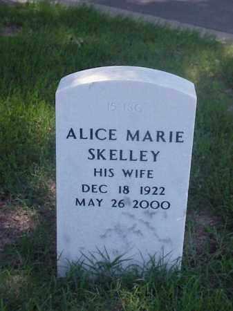 SKELLEY, ALLICE MARIE - Pulaski County, Arkansas | ALLICE MARIE SKELLEY - Arkansas Gravestone Photos