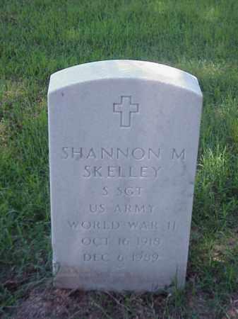 SKELLEY (VETERAN WWII), SHANNON M - Pulaski County, Arkansas | SHANNON M SKELLEY (VETERAN WWII) - Arkansas Gravestone Photos