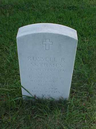 SKYRMES (VETERAN 2 WARS), RUSSELL R - Pulaski County, Arkansas   RUSSELL R SKYRMES (VETERAN 2 WARS) - Arkansas Gravestone Photos