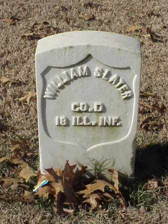 SLATER (VETERAN UNION), WILLIAM - Pulaski County, Arkansas | WILLIAM SLATER (VETERAN UNION) - Arkansas Gravestone Photos