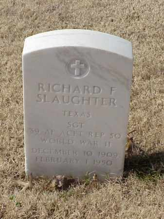 SLAUGHTER (VETERAN WWII), RICHARD F - Pulaski County, Arkansas | RICHARD F SLAUGHTER (VETERAN WWII) - Arkansas Gravestone Photos