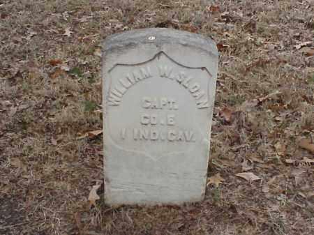 SLOAN (VETERAN UNION), WILLIAM W - Pulaski County, Arkansas   WILLIAM W SLOAN (VETERAN UNION) - Arkansas Gravestone Photos