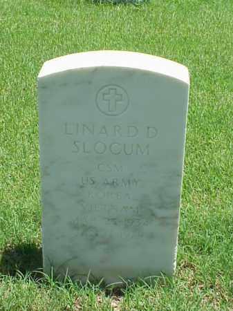 SLOCUM (VETERAN 2 WARS), LINARD D - Pulaski County, Arkansas   LINARD D SLOCUM (VETERAN 2 WARS) - Arkansas Gravestone Photos