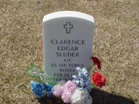 SLUDER (VETERAN KOR), CLARENCE EDGAR - Pulaski County, Arkansas | CLARENCE EDGAR SLUDER (VETERAN KOR) - Arkansas Gravestone Photos