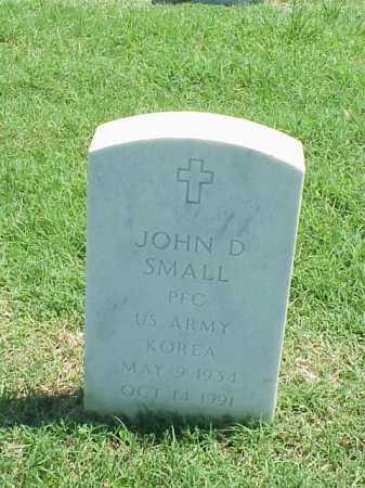 SMALL (VETERAN KOR), JOHN D - Pulaski County, Arkansas | JOHN D SMALL (VETERAN KOR) - Arkansas Gravestone Photos