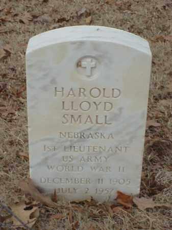 SMALL (VETERAN WWII), HAROLD LLOYD - Pulaski County, Arkansas | HAROLD LLOYD SMALL (VETERAN WWII) - Arkansas Gravestone Photos