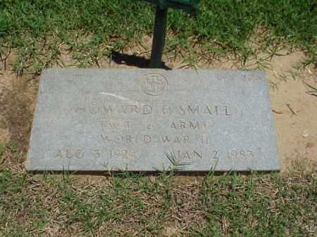 SMALL (VETERAN WWII), HOWARD E - Pulaski County, Arkansas   HOWARD E SMALL (VETERAN WWII) - Arkansas Gravestone Photos