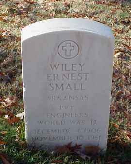 SMALL (VETERAN WWII), WILEY ERNEST - Pulaski County, Arkansas | WILEY ERNEST SMALL (VETERAN WWII) - Arkansas Gravestone Photos