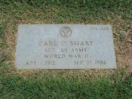 SMART (VETERAN WWII), CARL O - Pulaski County, Arkansas | CARL O SMART (VETERAN WWII) - Arkansas Gravestone Photos