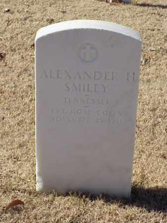 SMILEY (VETERAN), ALEXANDER H - Pulaski County, Arkansas   ALEXANDER H SMILEY (VETERAN) - Arkansas Gravestone Photos